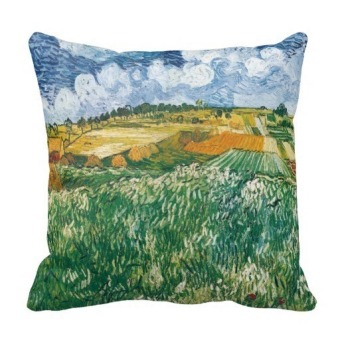 Famous Oil Painting Double-Side Printing Pillow Case Cover