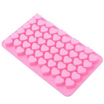 Fancyqube Heart-shaped Mini Silicone Cup Cake Pan Mold Muffin Cupcake Form To Bake Kitchen Baking Tools Pink