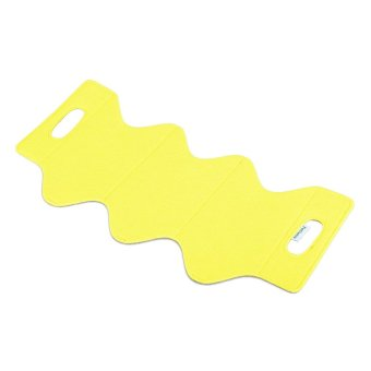 FelTiamo 3-Wine Bottle Holder (Yellow)
