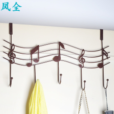 Fengquan wrought iron door hanging piano notes wall hangers hanger adhesive hook Philippines