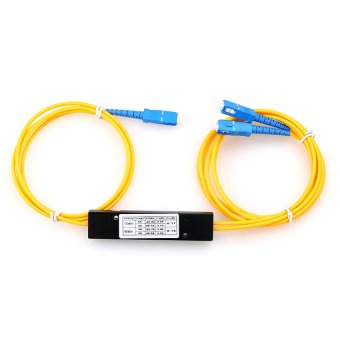 Fiber Optic PLC Splitter 1:2 SC Optical Branching Device - 2