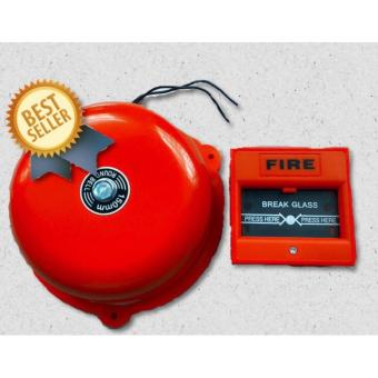 Fire Alarm Bell 6 Inches Diameter 220Volts with Break Glass MAnual Push Station Price Philippines