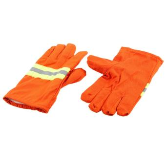 Fire Protective Gloves Fire Proof Heat Proof WaterproofFlame-retardant Non-slip Fire Fighting Anti-fire Gloves Tomnet -intl - 3