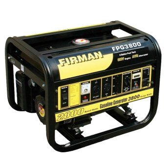 Firman FPG 3800 Gasoline Generator (Yellow/Black)