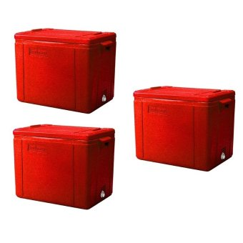 Fish Box Cooler (Red) Bundle of 3