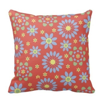 Floral Double-Side Printing Pillow Case Cover(Multicolor)