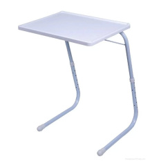 Foldable And Adjustable Multi Purpose Table Mate 2 White