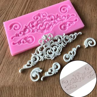 Fondant Cake Chocolate Mold Baking Cake Silicone Mold - intl Price Philippines