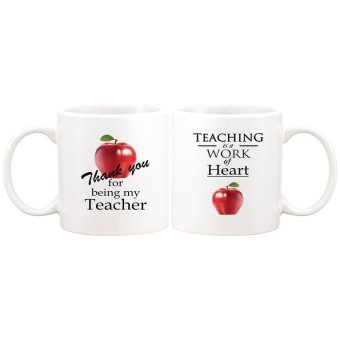 For Teachers Statement Gift Mug (White)