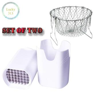 French Fries Cutter Set With Chef Basket
