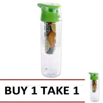 Fruit Juice Tumbler 700ml (Green) Buy 1 Take 1