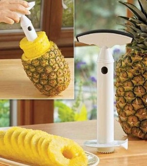 Fruit Pineapple Corer Slicers Peeler Cutter Kitchen Easy Tool pineapple peeler fruit Random color