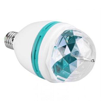 Full Color Screw Type Rotating Disco Lamp - 3