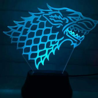 Game of Thrones 3D LED Lamp - 5