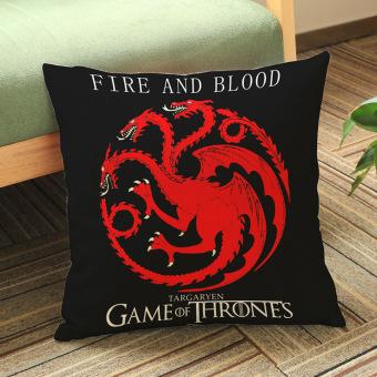 Game of Thrones House Sigils Family Crest Pillow case (Targaryen) - 3