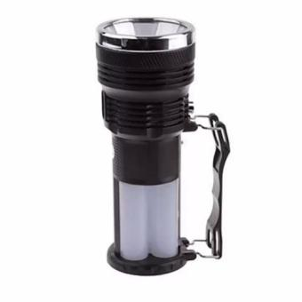 G@Best Solar and Rechargeable Portable Lamp/Flashlight (Black) - 4