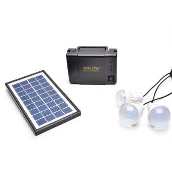GDLITE GD-8006-A Solar Lighting System (Black) #0123 Price Philippines