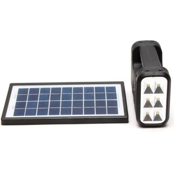 GDLITE GD-8017A Solar Lighting System (Black) - 2