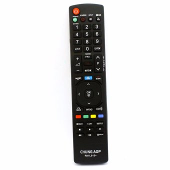 Glamorosa Mobile RM-L915+ Universal Remote Controller For LGLCD/LED TV (Black)