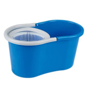 GMY 360 Degree Spin Mop and Spin Dry Bucket (Blue) - 2