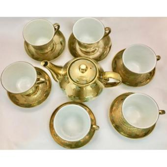 GOLD PLATED TEA CUP SET - 2