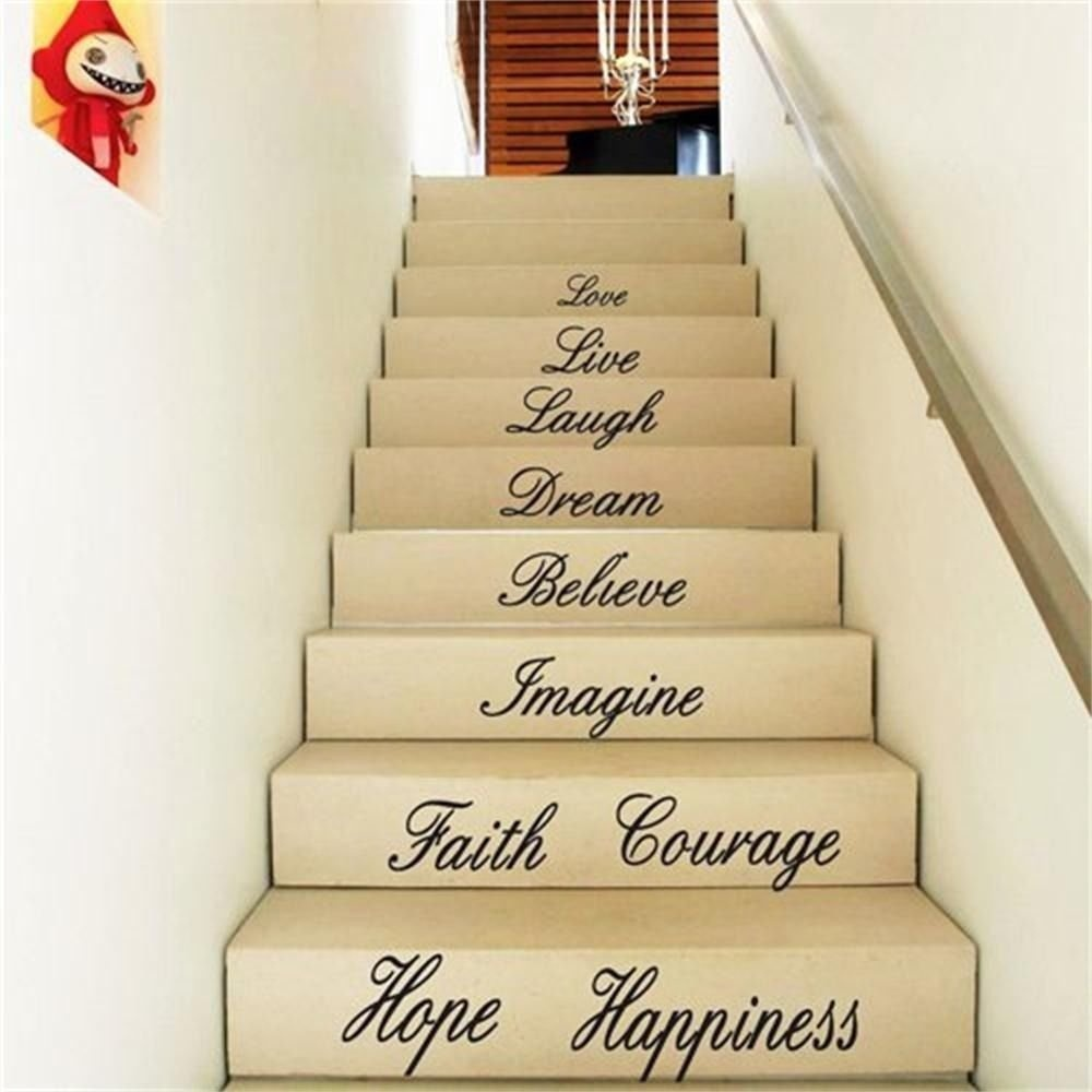 Philippines | Gosport Live Hope Laugh Stairs Wall Quote Sticker ...
