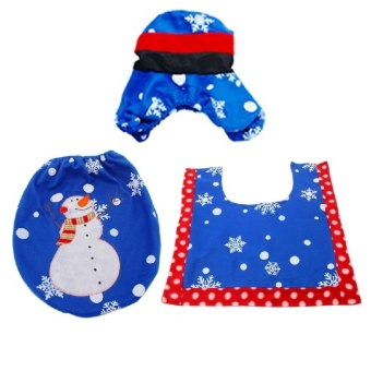 Gracefulvara new hand embroidered Christmas snowman Christmas holiday household items - intl - picture 2