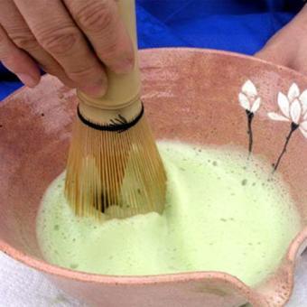Green Tea Chasen Brush Tool Grinder Brushes Japanese CeremonyBamboo 64 Matcha Powder Whisk Brand Kitchen - intl - 2