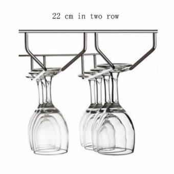 GX 304 stainless steel wine glass holder Goblets hanging cup holder- intl