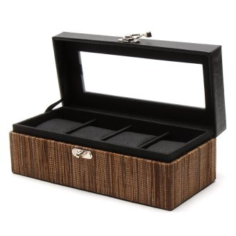 Handicraft 4-Compartment Watchbox (Lupis) - picture 2