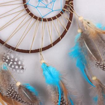 Handmade Dream Catcher Feathers Hanging Decoration - 3