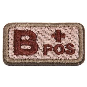 Hang-Qiao Embroidery Tactics Blood Supply Velcro Badges B Patch