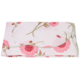 HANG-QIAO PVC Waterproof Flower Tablecloth (Pink)