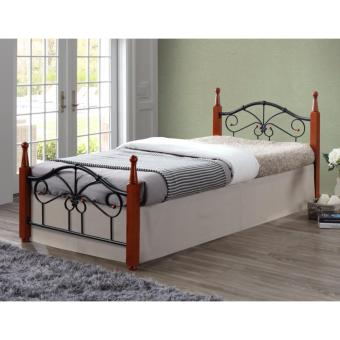 "Hapihomes Miami ""36 x 75"" Bed Frame (Metal/Wood) Price Philippines"