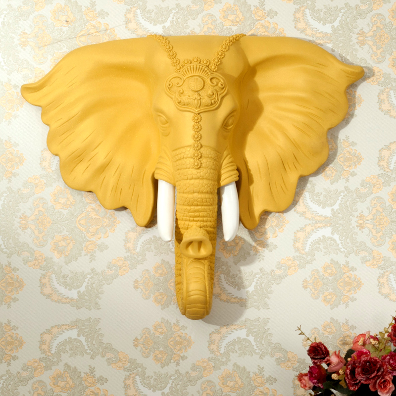 Philippines | Head Wall decorative wall hangers European elephant ...