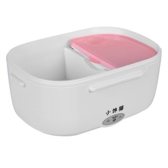 Heat Preservation Electric Lunch Box (Pink) - picture 2