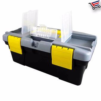 Heavy Duty Multi Purpose Durable High Quality Plastic ToolBox,(Small) - 2