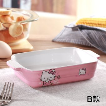 Hello Kitty oven baking dish cheese plate oven dish