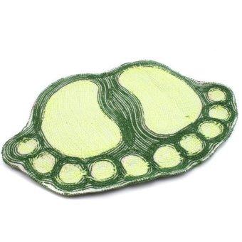 Hengsong Floor Bathroom Water Absorbent Mat (Green) - picture 2