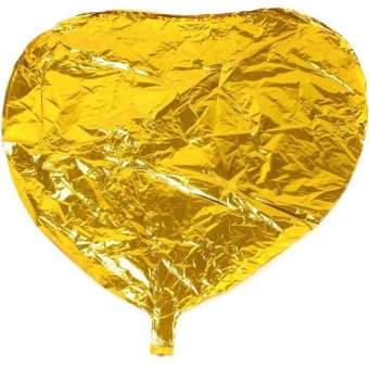 Hengsong Heart Shape Balloon (Gold)