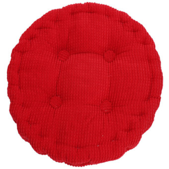 HengSong Round Cushion Bright Red