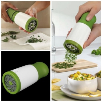 Herb Grinder Spice Mill Parsley Shredder Chopper Fruit VegetableCutter New Creative Cooking Tools - intl