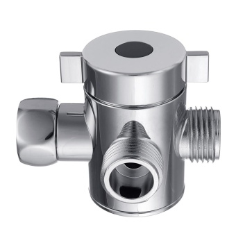 Quality ABS Multi Function 3 Way Shower Head Diverter Valve G12