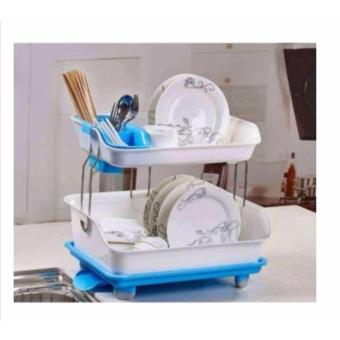 High Quality Kitchen Dish Drainer Drying Rack Holder Organizer Tray - 3