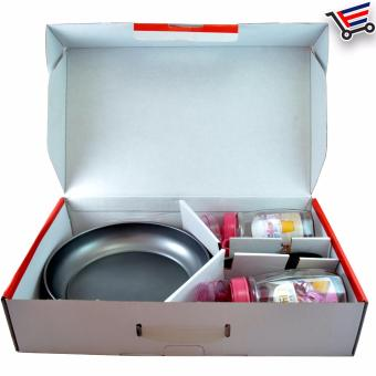 High Quality Non Stick Frying Pan with 2 Piece Oil Pot - 2