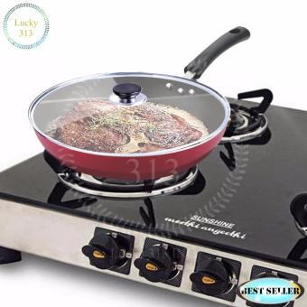 High Quality Non-Stick Star Frying Cooking Pan 30cm - intl