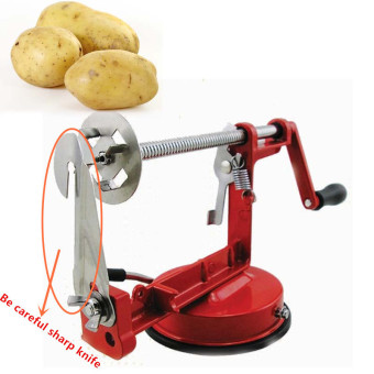 High-quality Stainless Steel Manually Sweet Potatoes Machine /Potato Slicer New Kitchen Tool