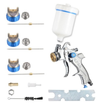 High Service HVLP Gravity Feed Spray Tools Car Vehicle Paint 1.4MM 1.7MM 2MM Nozzle 600CC Cup - intl - 3