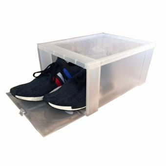Clear Drop Front Shoe Boxes
