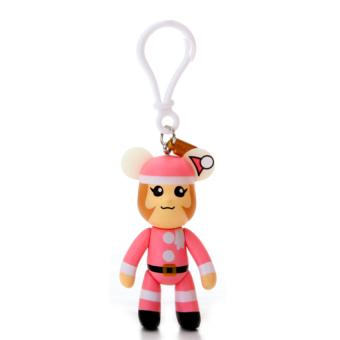 HKS 3-Inch Bag Pendant Pink Christmas (Intl)